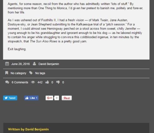 Warning to others blacklist david benjamin blog post screen cap 3