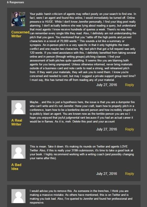 Warning to others blacklist david benjamin blog post screen cap 4