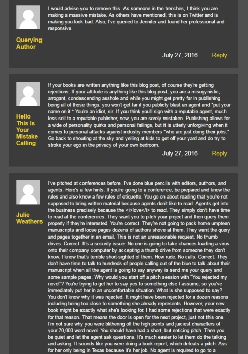 Warning to others blacklist david benjamin blog post screen cap 5